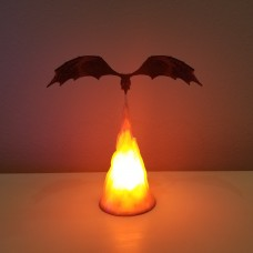 Fire Breathing Dragon Lamp Inspired By Game of Thrones