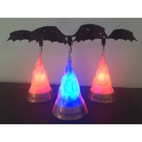 Game of Thrones Dragon Lamps Collector Set