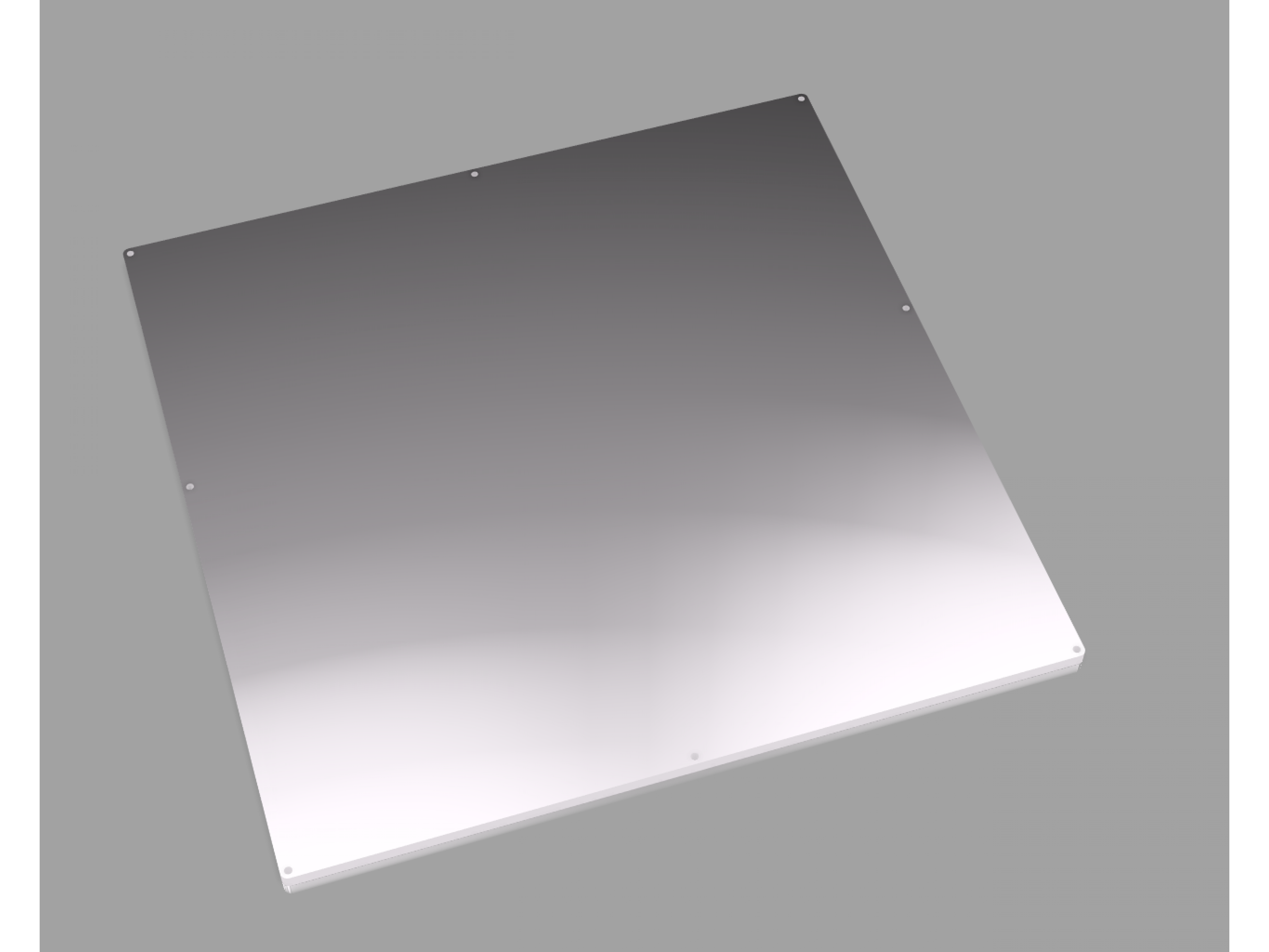 FT5 Heated Bed Plate
