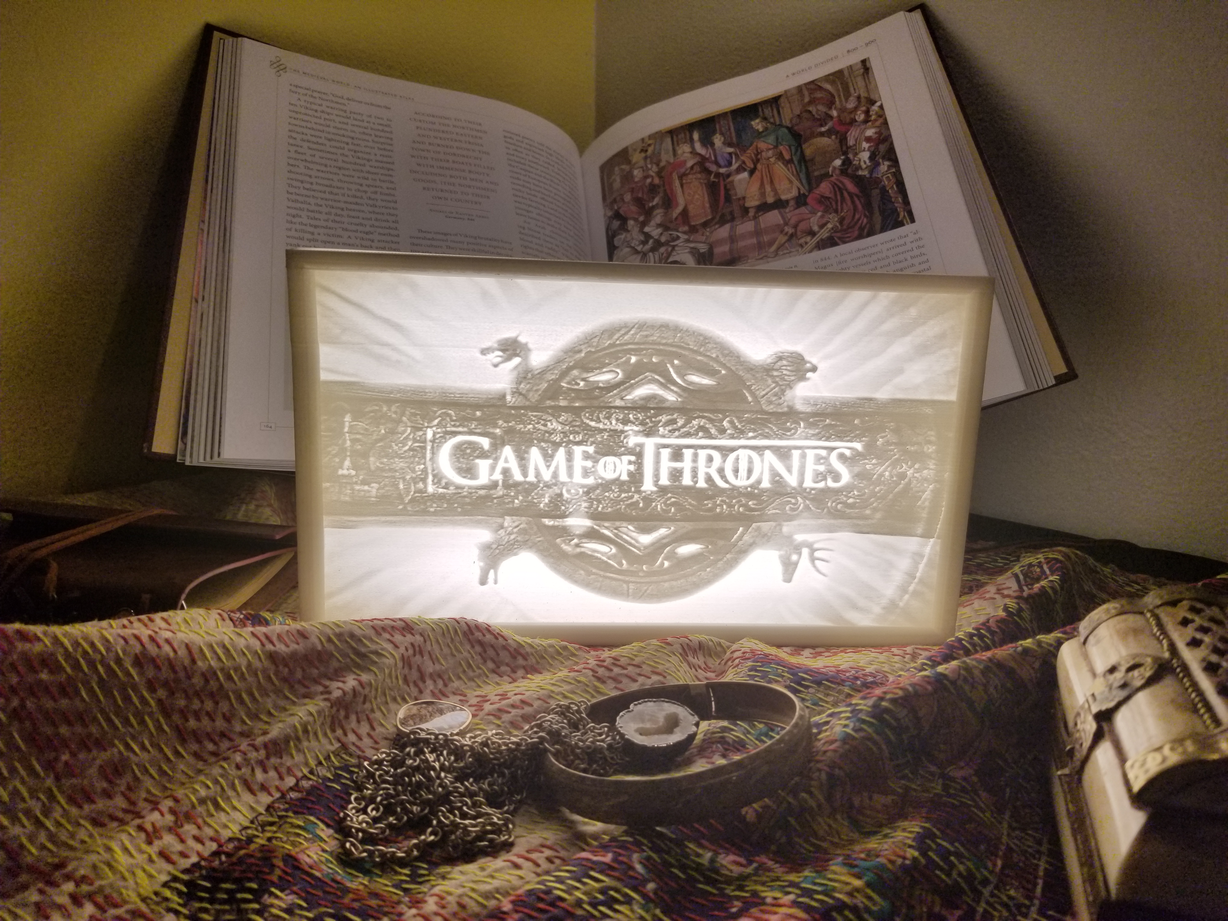 Game of Thrones Lithophane